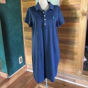 POLO Ralph Lauren Navy cotton dress